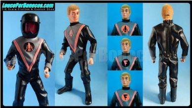 LoucoPorBonecos - FALCON Style - SPACE PIRATE for Action Man, Gi Joe Etc
